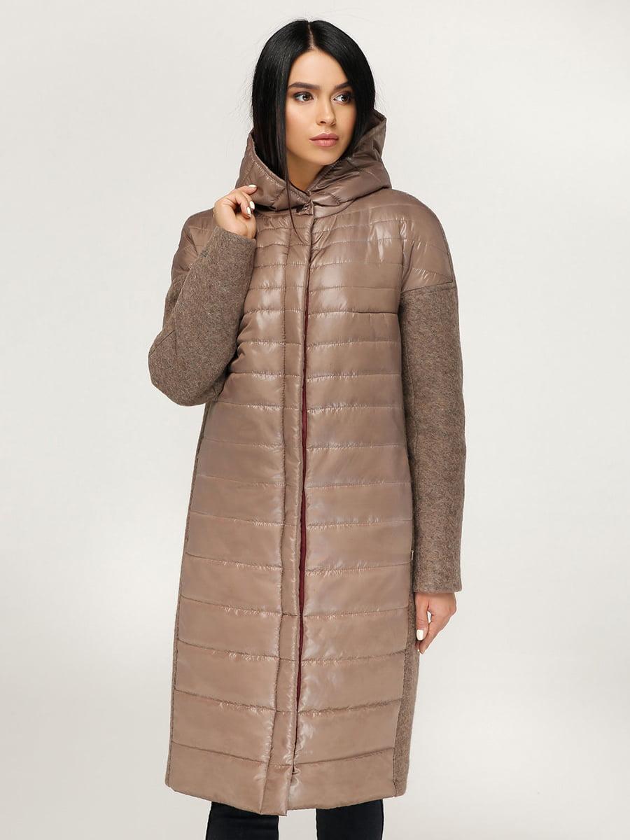 Пальто коричневе   4735128   фото 3