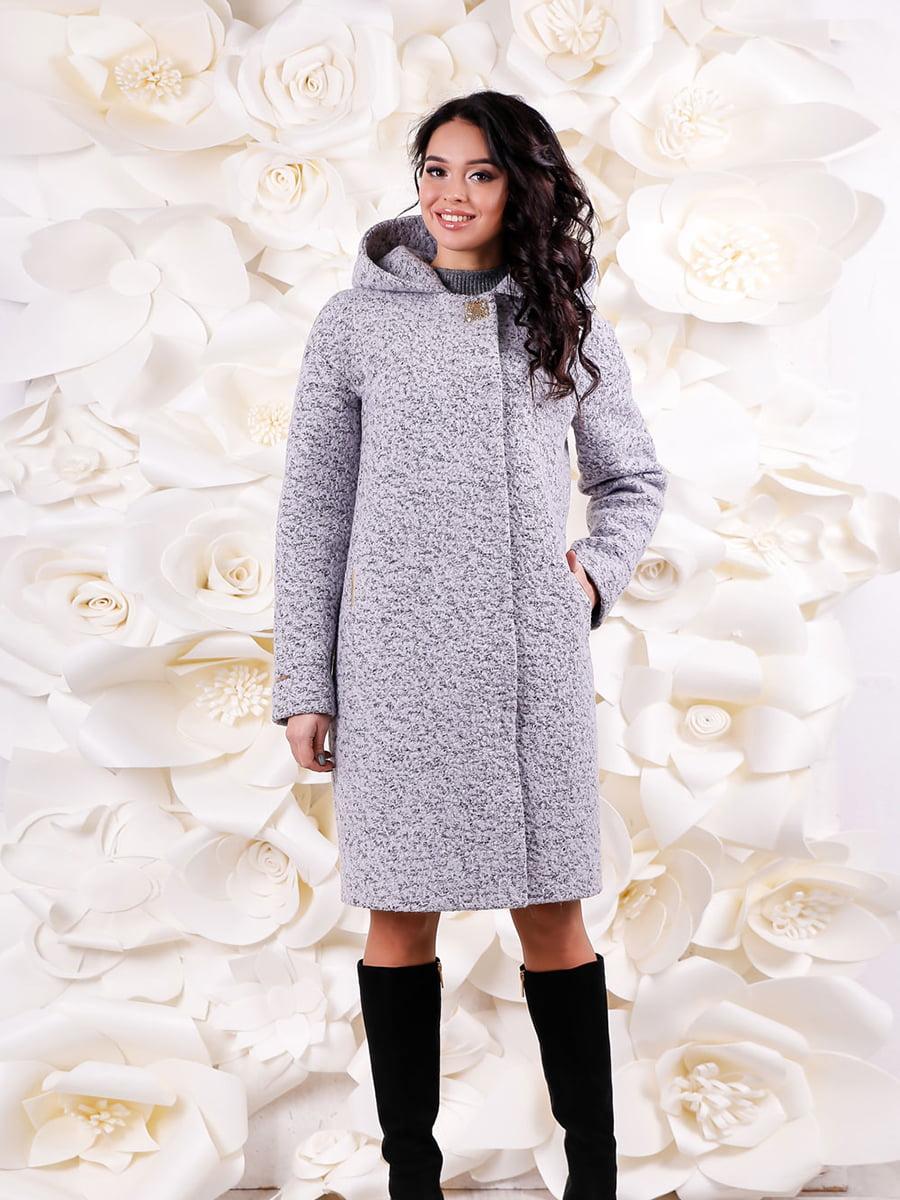 Пальто сіре | 4735364