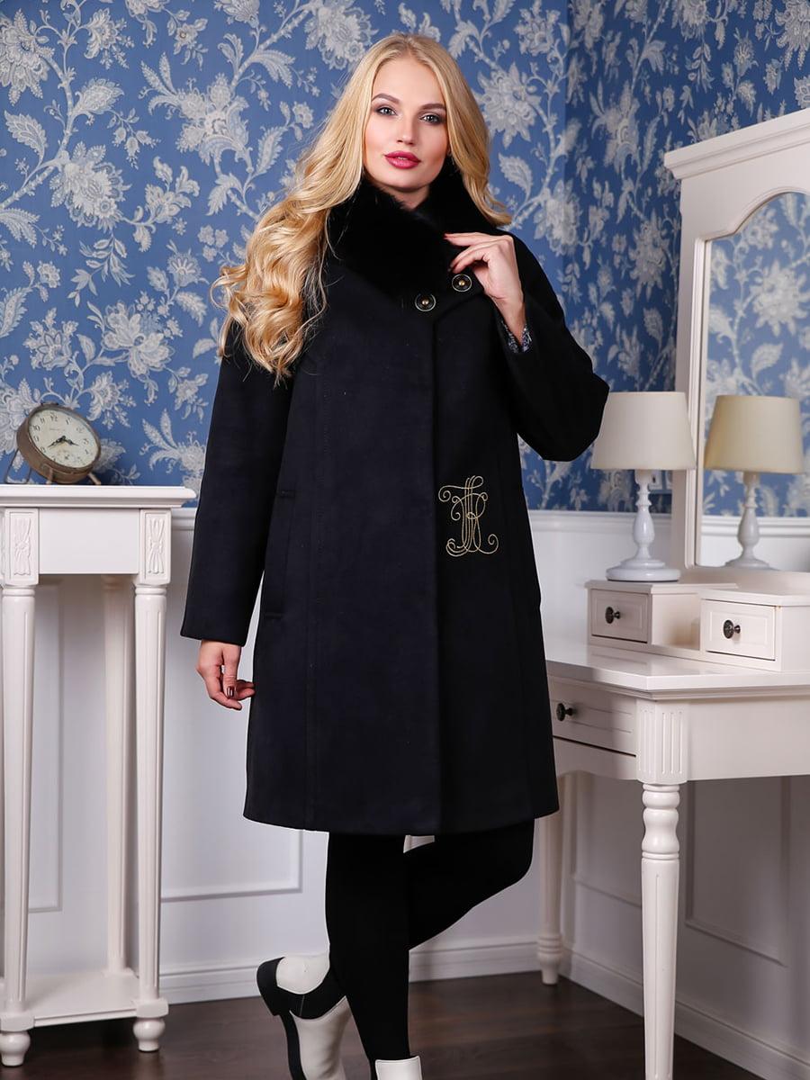 Пальто черное   4735371