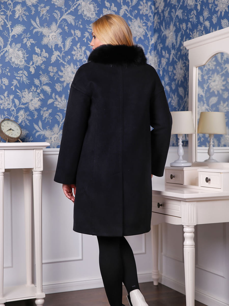 Пальто черное   4735371   фото 2