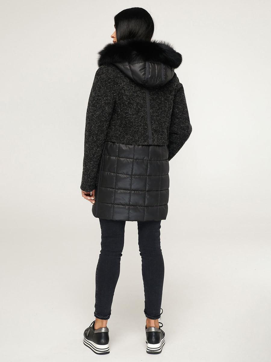 Пальто черное | 4735377 | фото 2