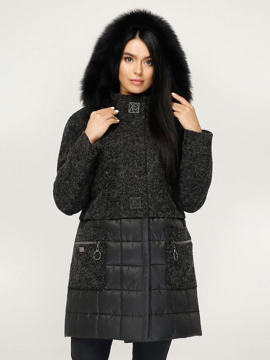 Пальто черное | 4735377 | фото 3