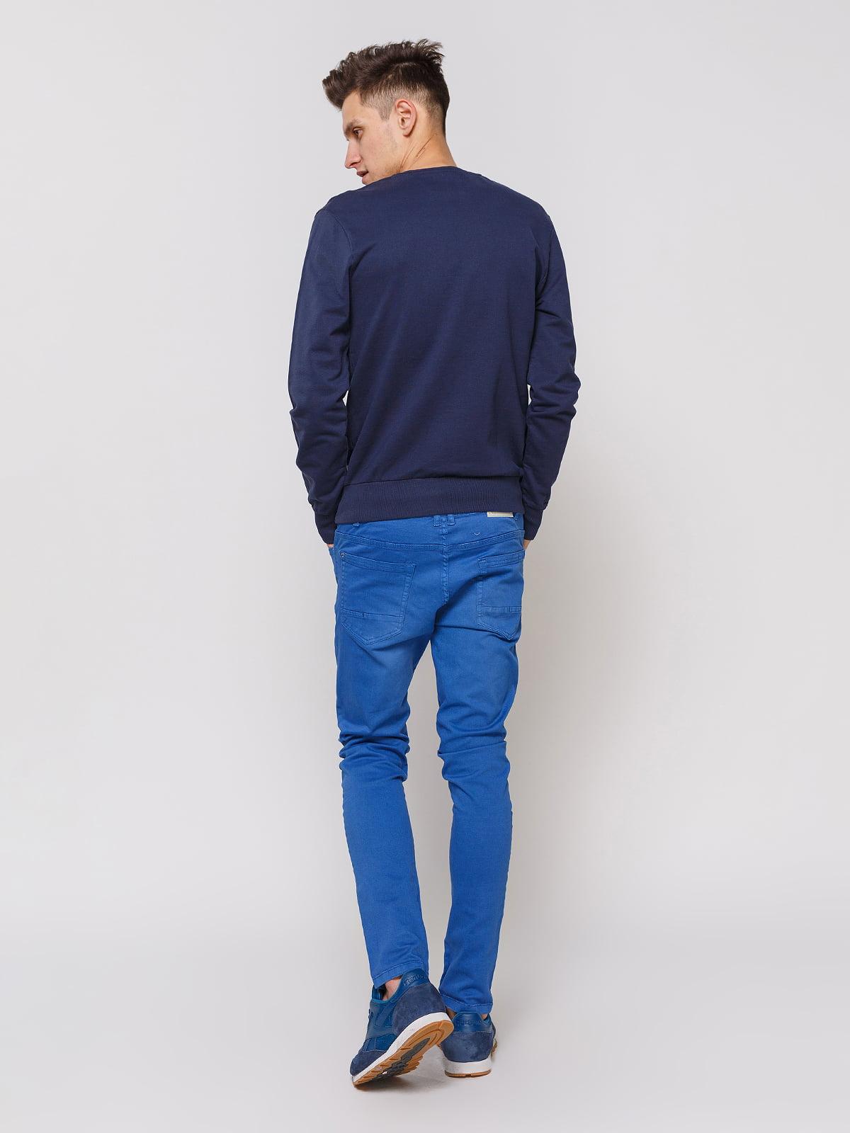 Штани сині | 3966833 | фото 3