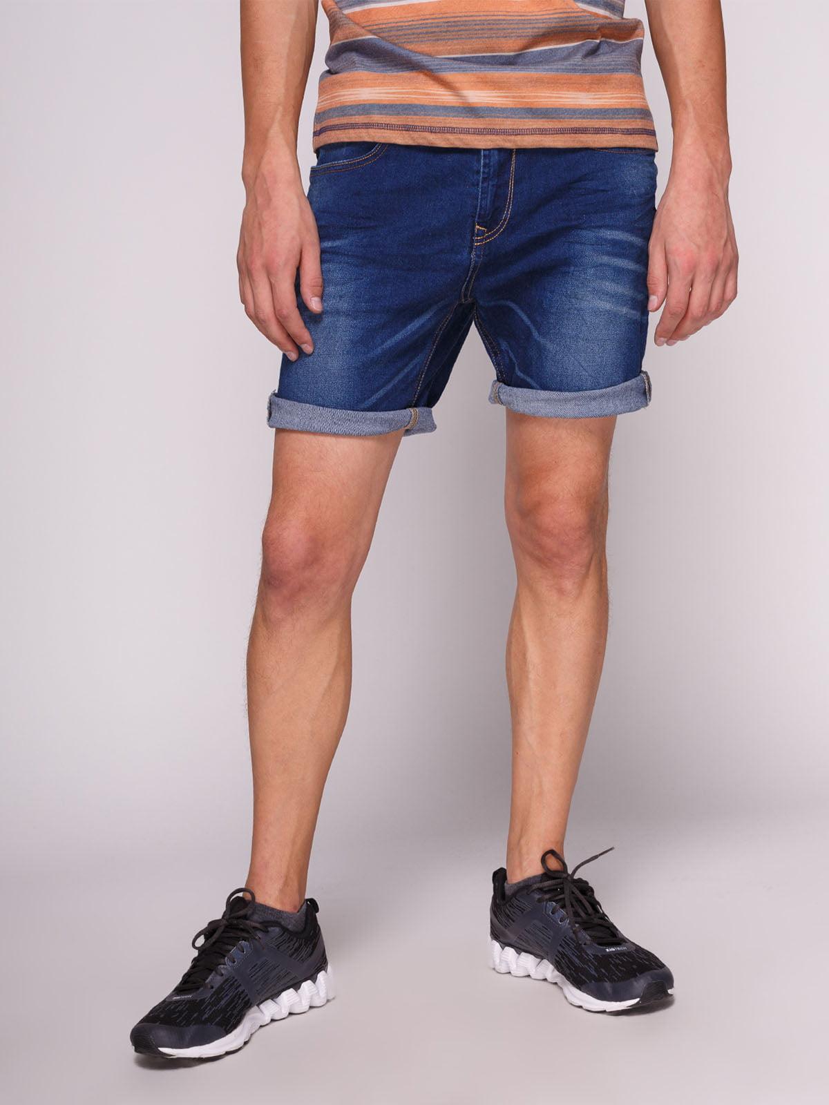 Шорти сині джинсові | 3009596