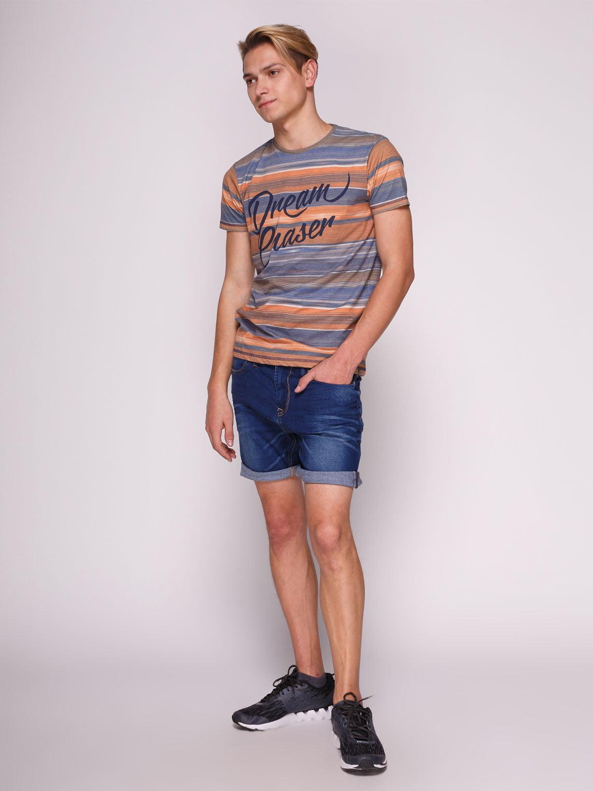 Шорти сині джинсові | 3009596 | фото 2