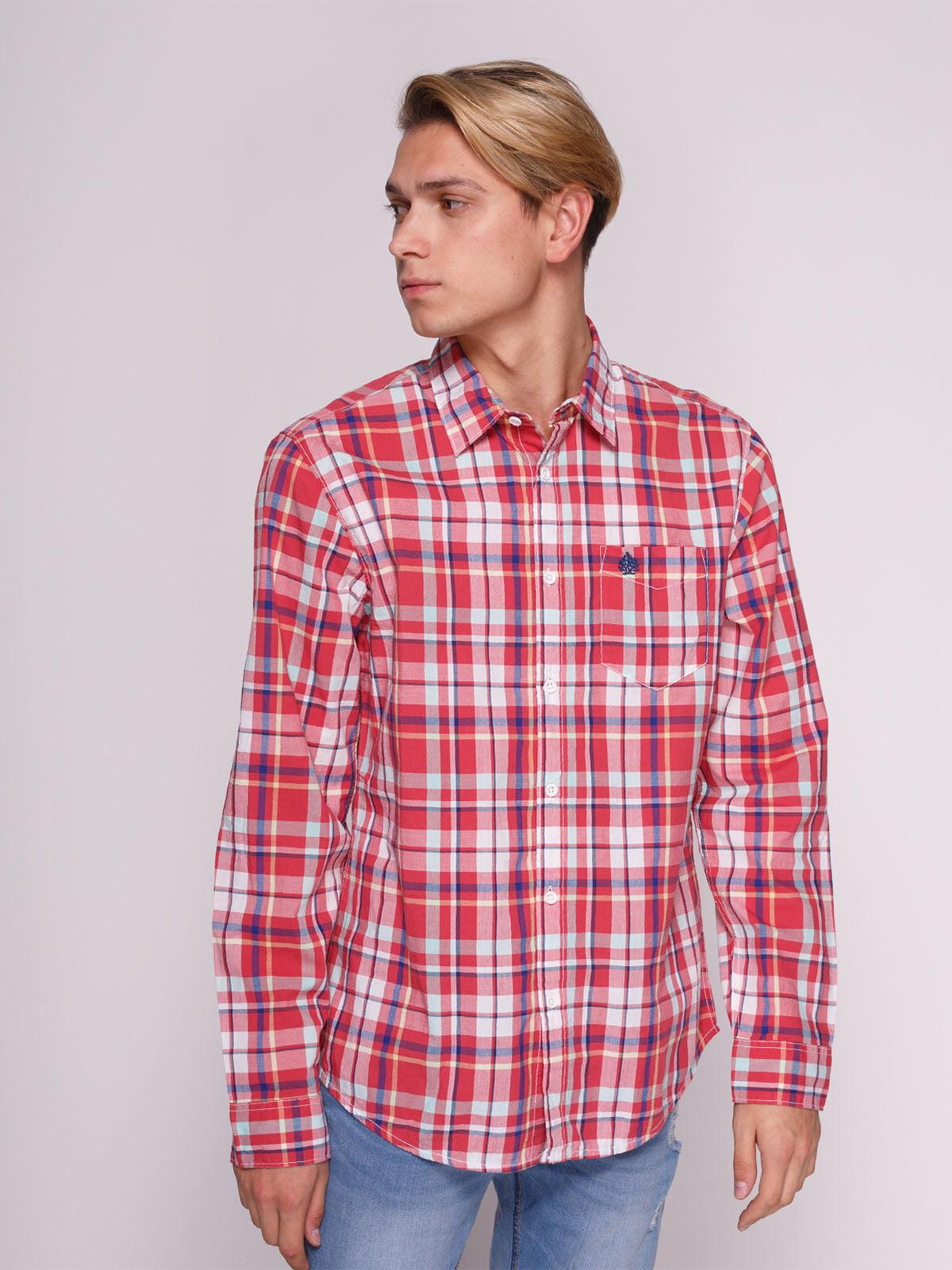 Рубашка клетчатая | 3009827