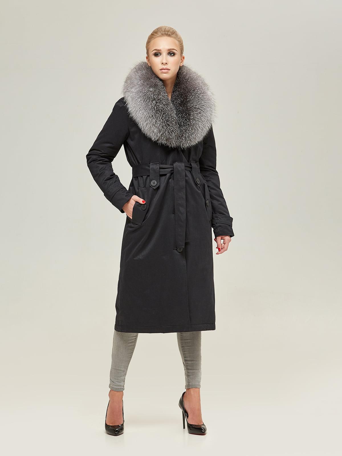 Пальто чорне | 4738775