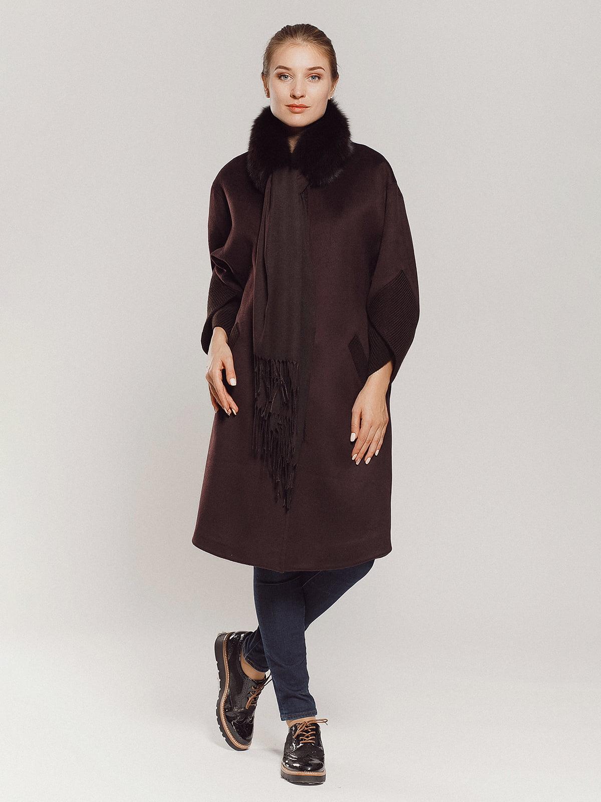 Пальто коричневое | 4739303