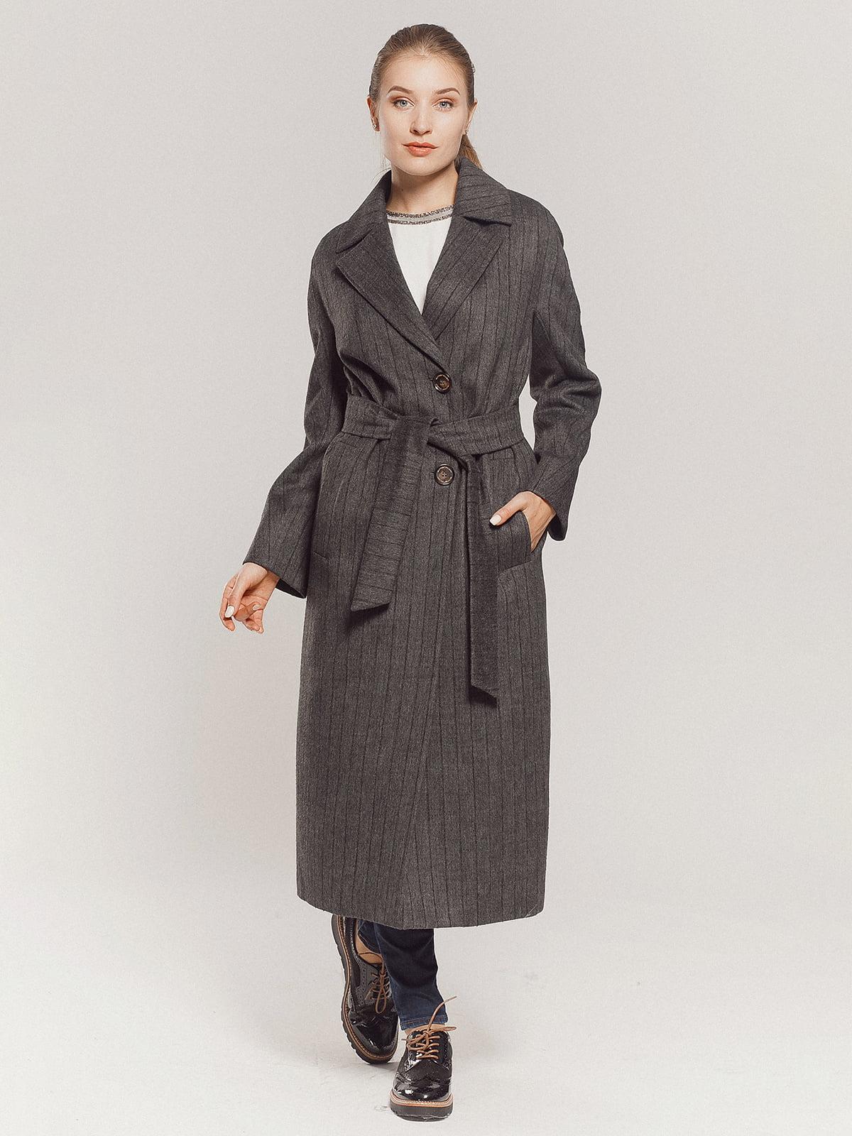 Пальто серое | 4739331 | фото 4