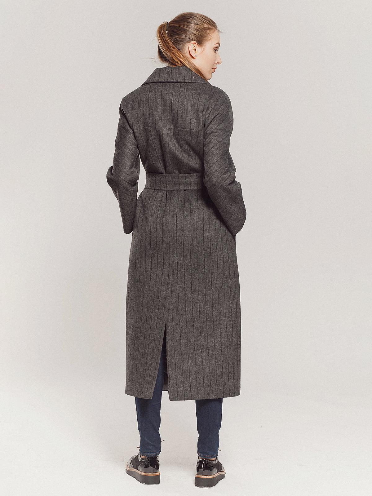 Пальто серое | 4739331 | фото 5