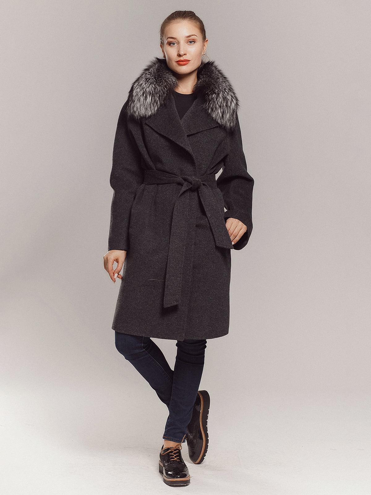 Пальто серое | 4739366