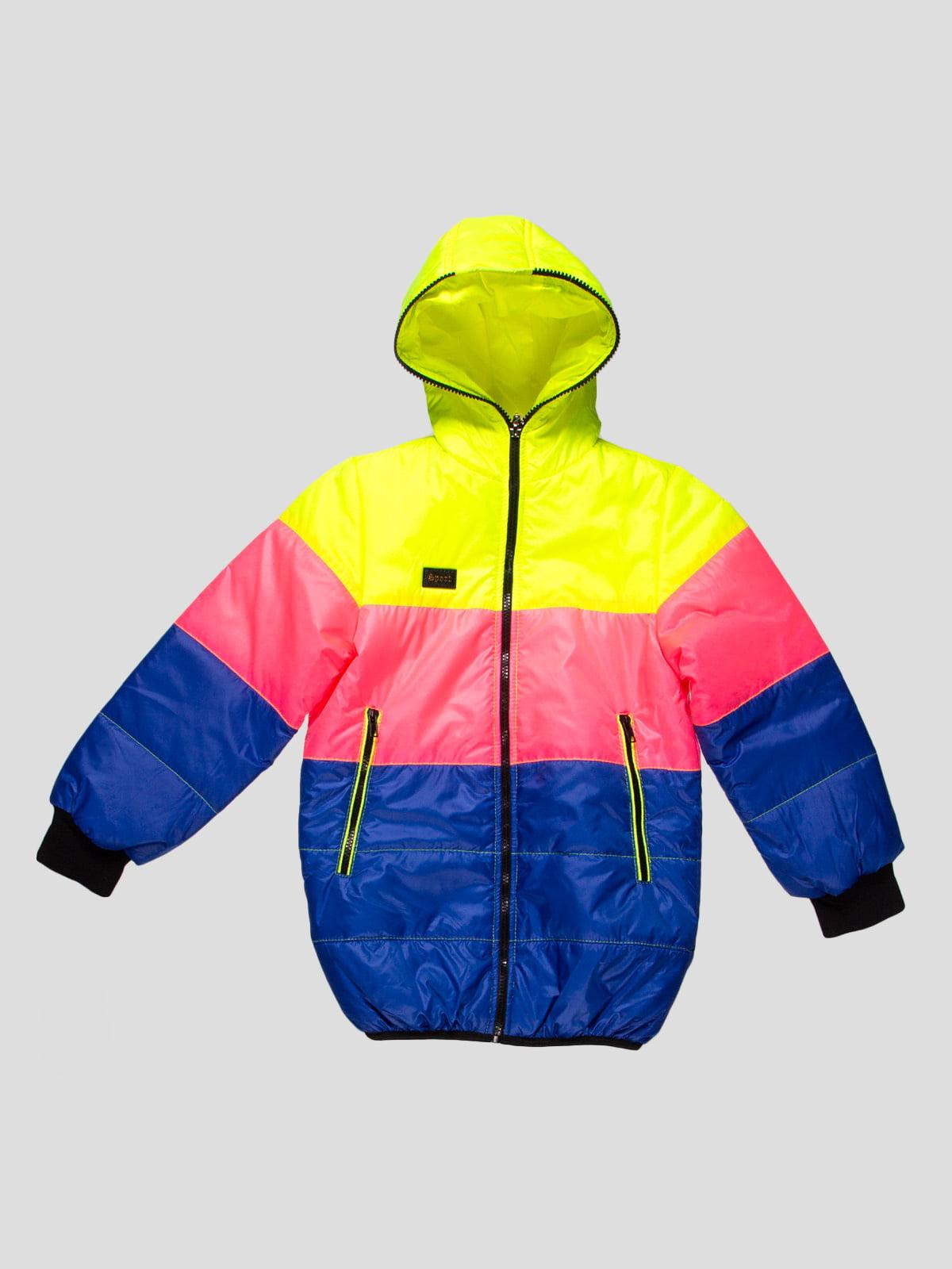 Куртка триколірна | 4707232