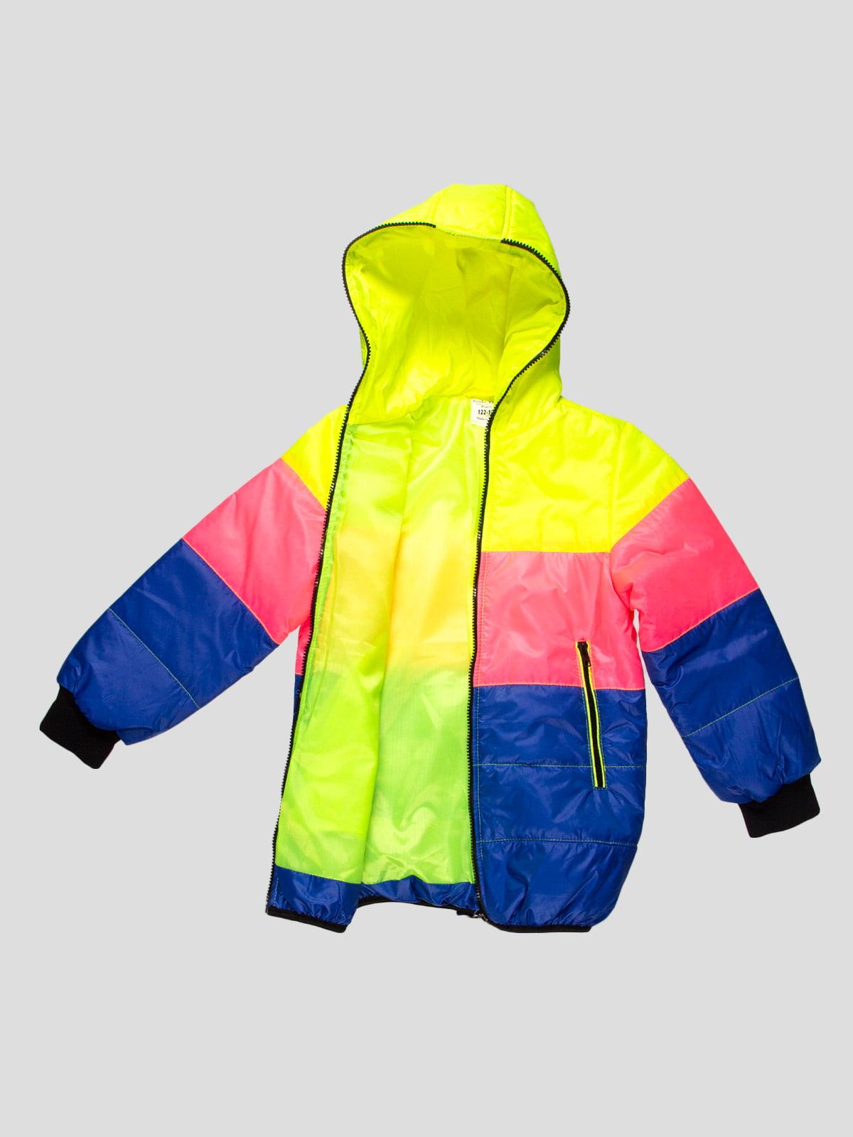 Куртка триколірна | 4707232 | фото 3