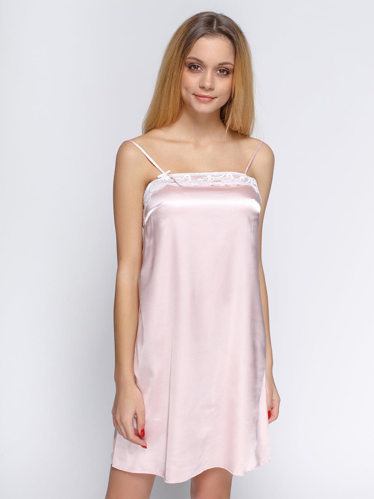 Сорочка нічна рожева | 4736295