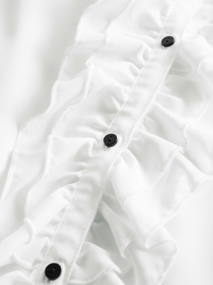 Блуза белая | 4730173 | фото 3