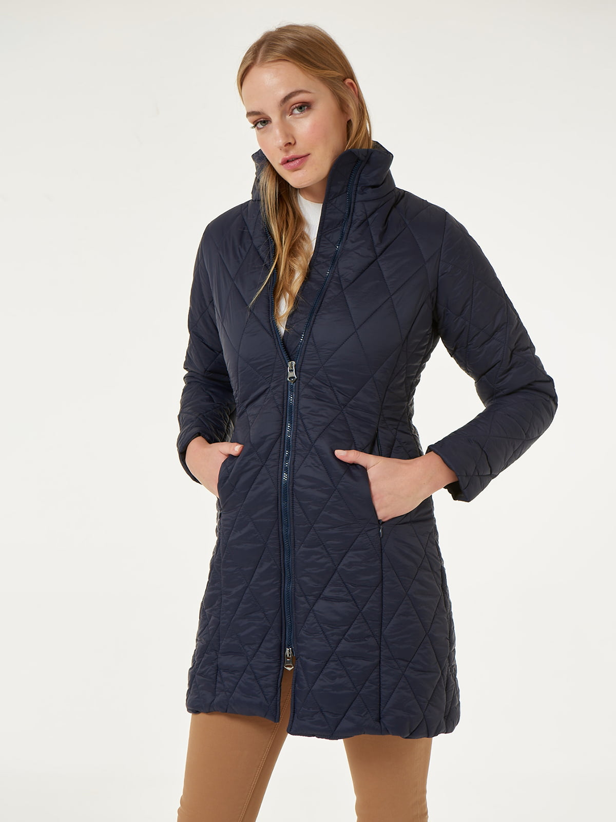 Пальто синее | 4625624 | фото 13