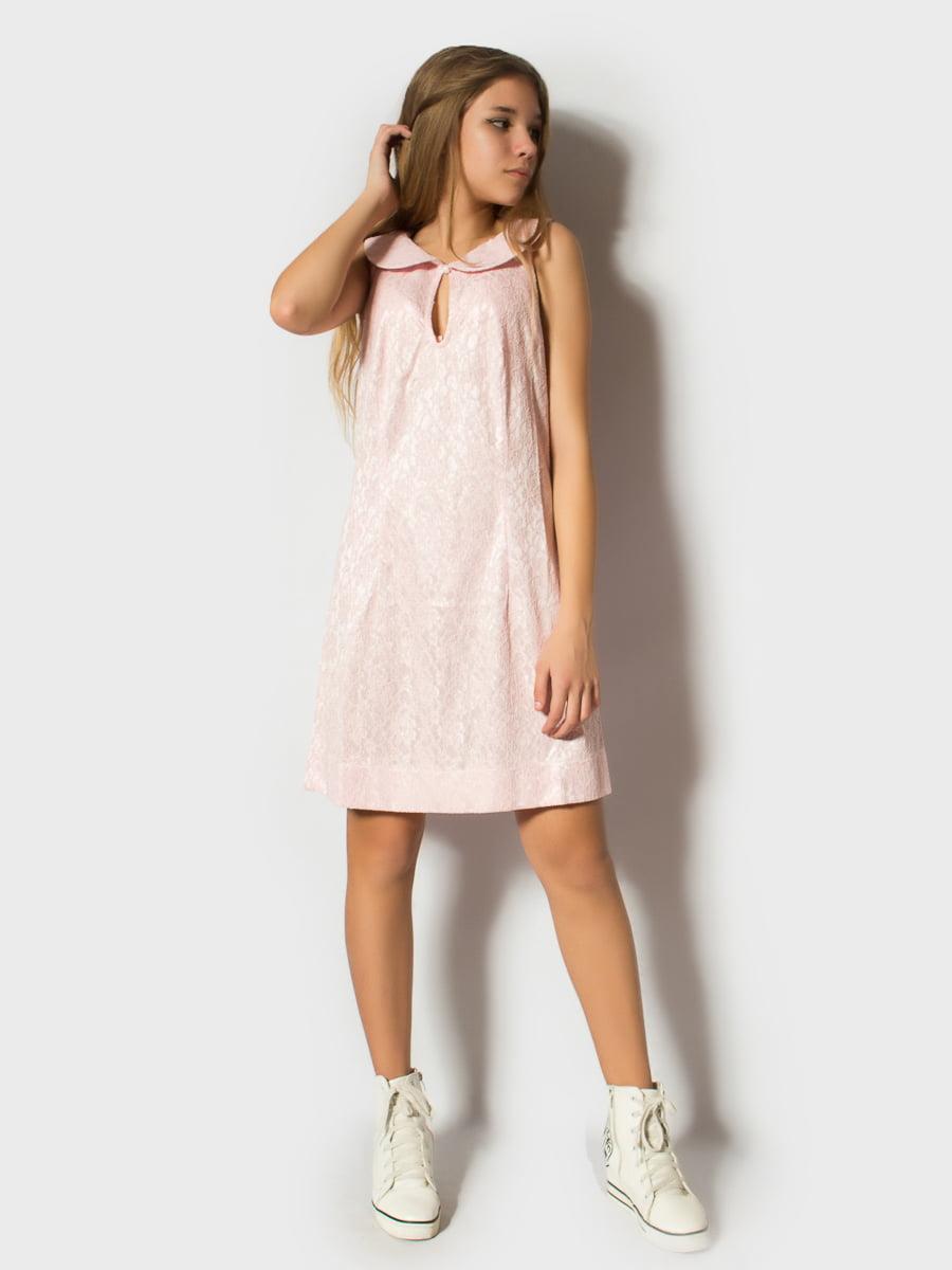 Платье светло-розовое | 4741037