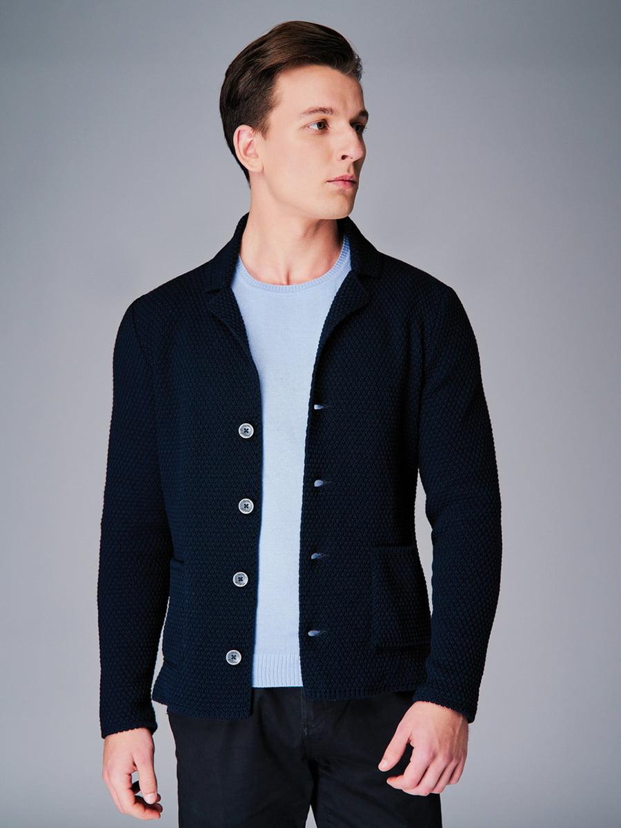 Піджак темно-синій | 4740631