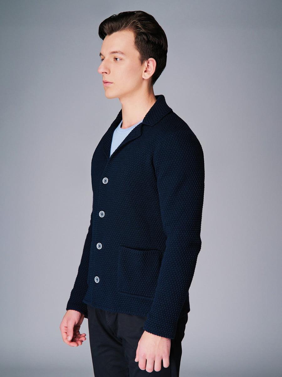Піджак темно-синій | 4740631 | фото 2