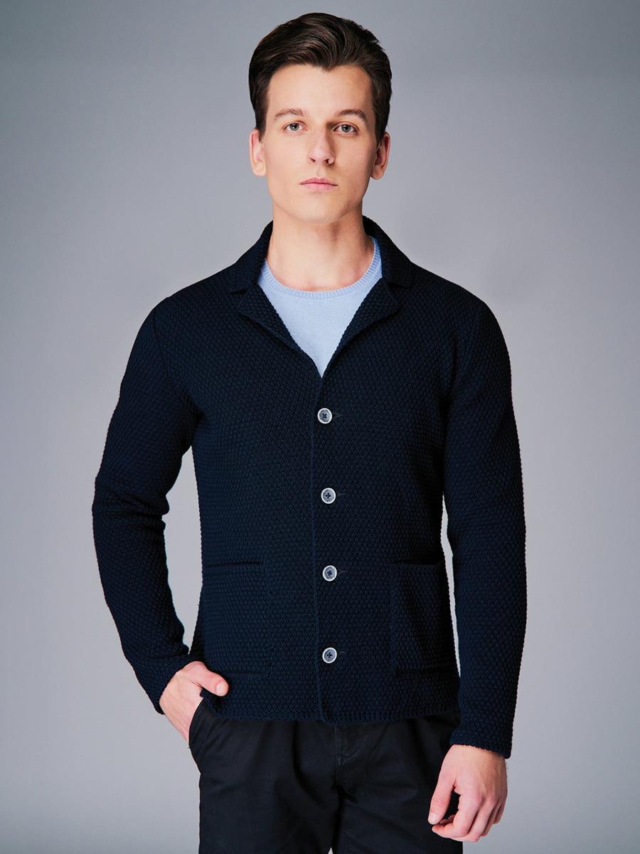 Піджак темно-синій | 4740631 | фото 3