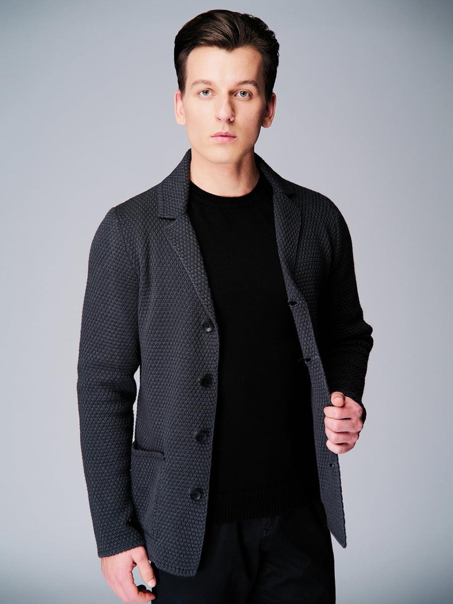 Піджак темно-сірий | 4740632