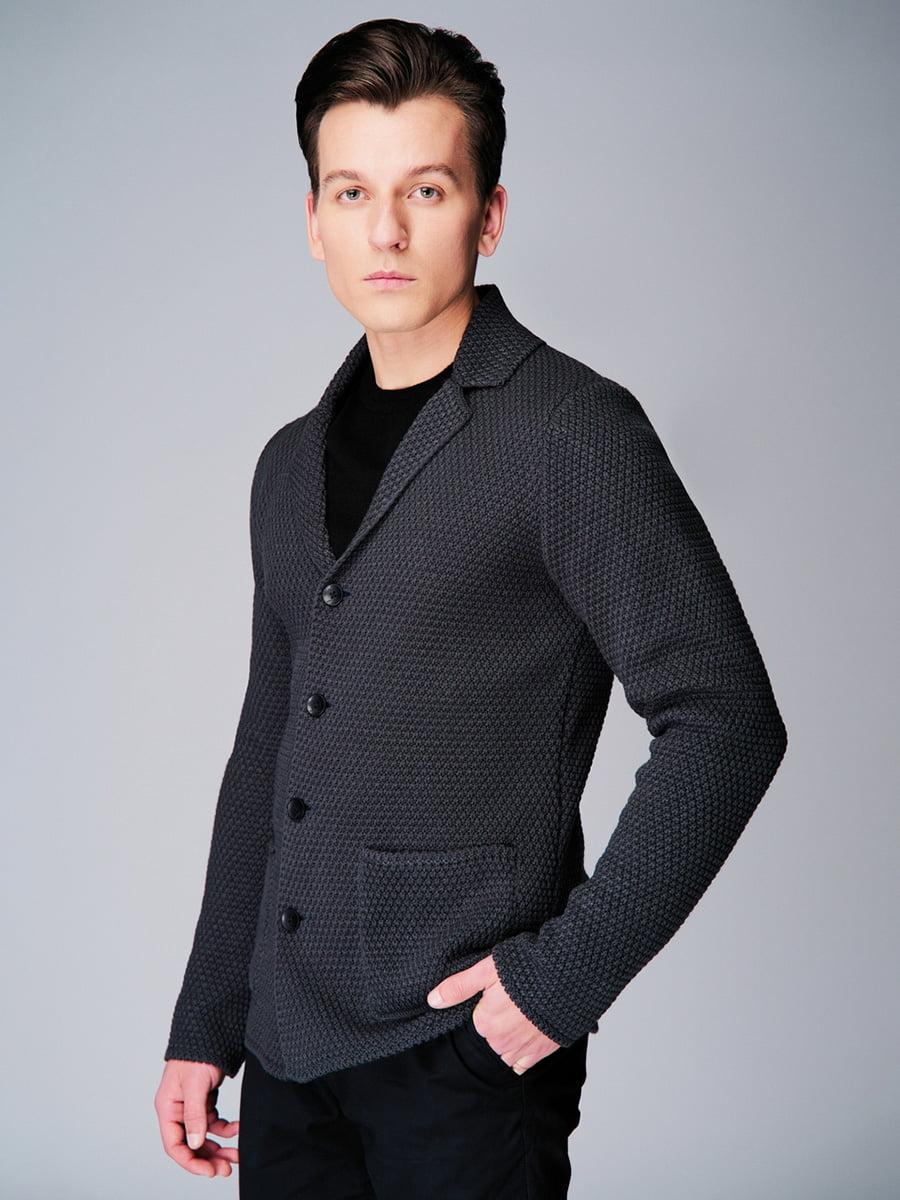Піджак темно-сірий | 4740632 | фото 3