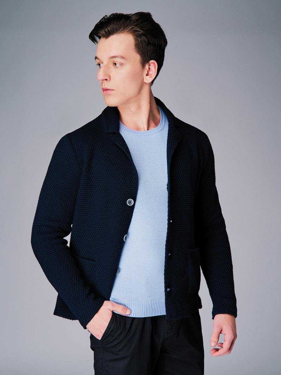 Піджак темно-синій | 4740631 | фото 4