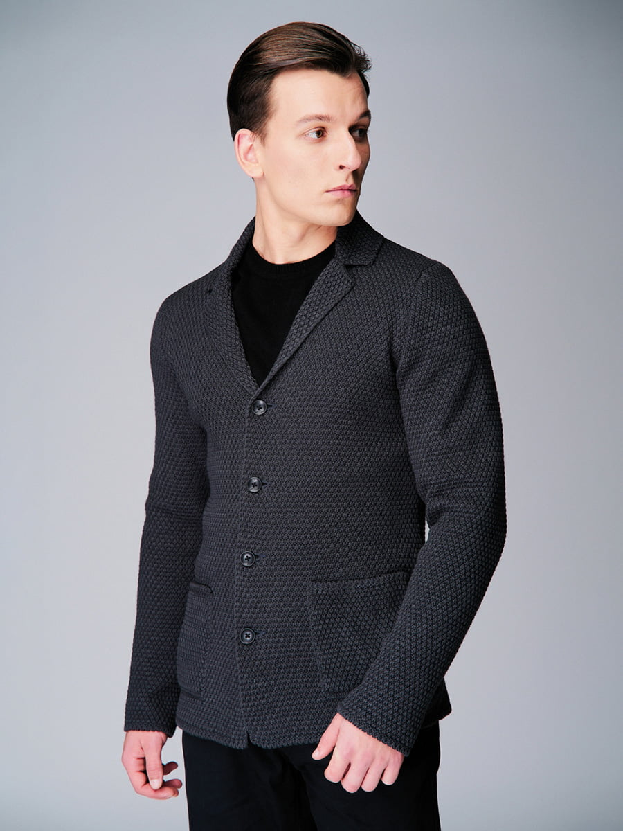 Піджак темно-сірий | 4740632 | фото 4
