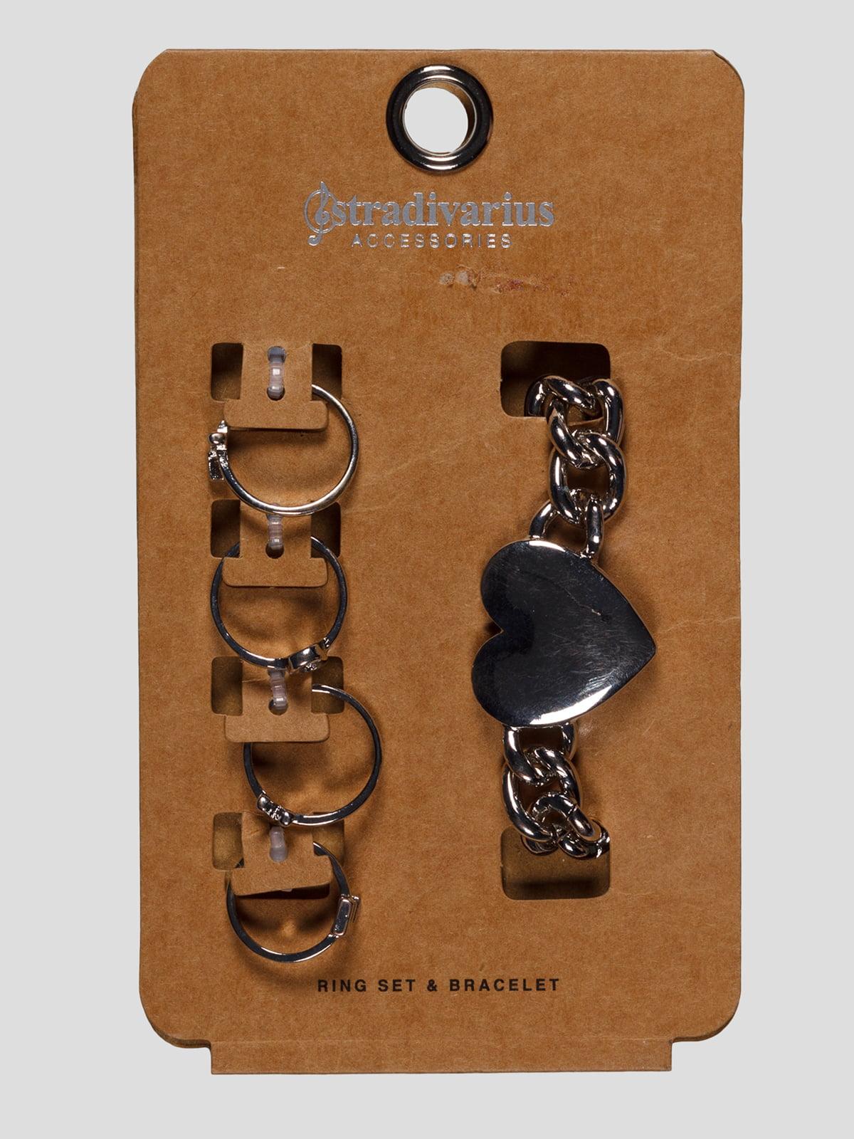 Набір: браслет і каблучки   3800248