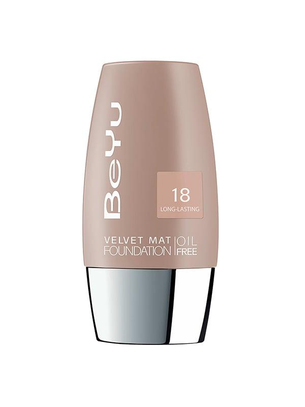 Тональний крем з матувальним ефектом Velvet - №18 (30 мл) | 4756521