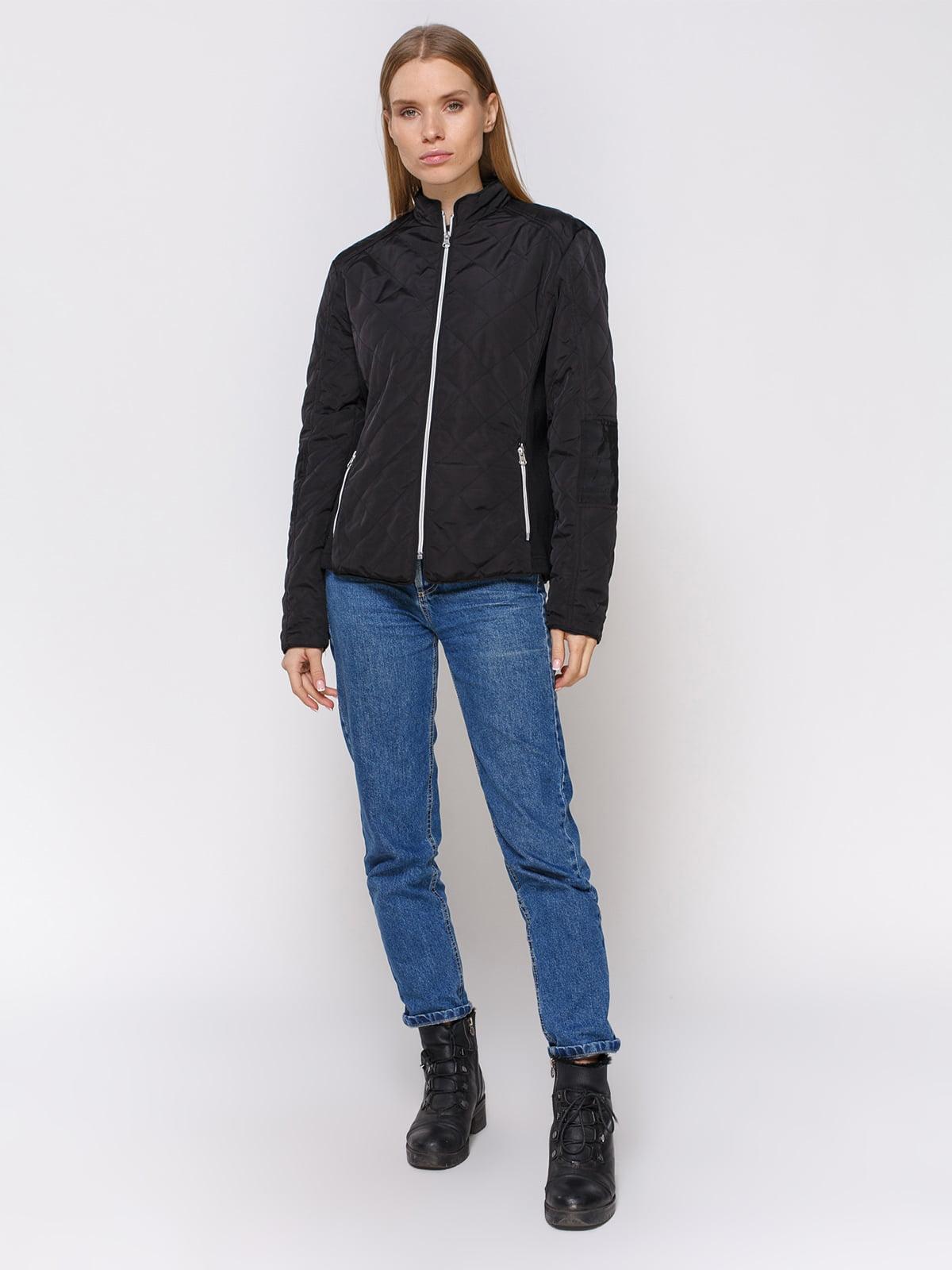 Куртка черная | 4560345 | фото 2