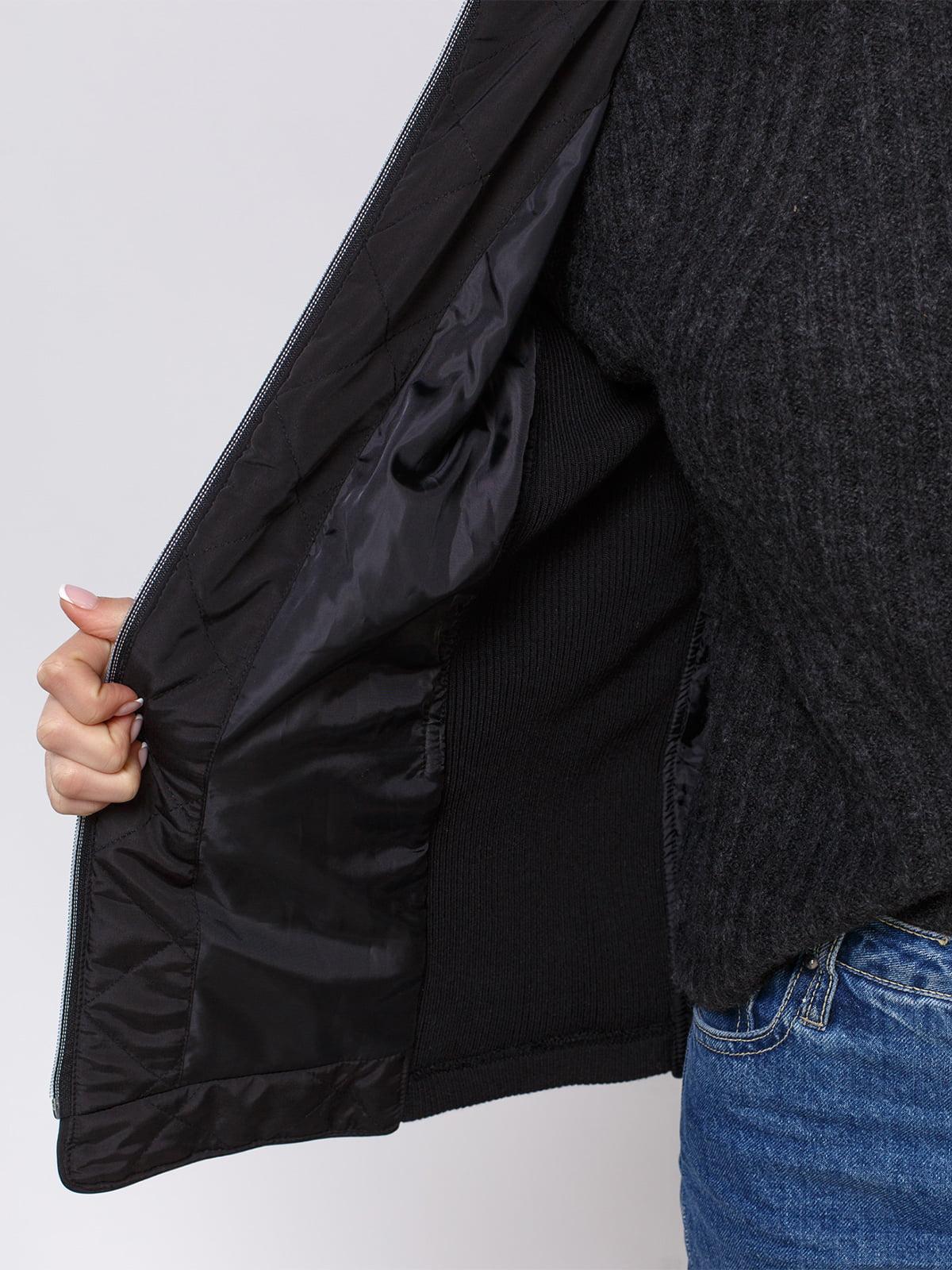 Куртка черная | 4560345 | фото 4