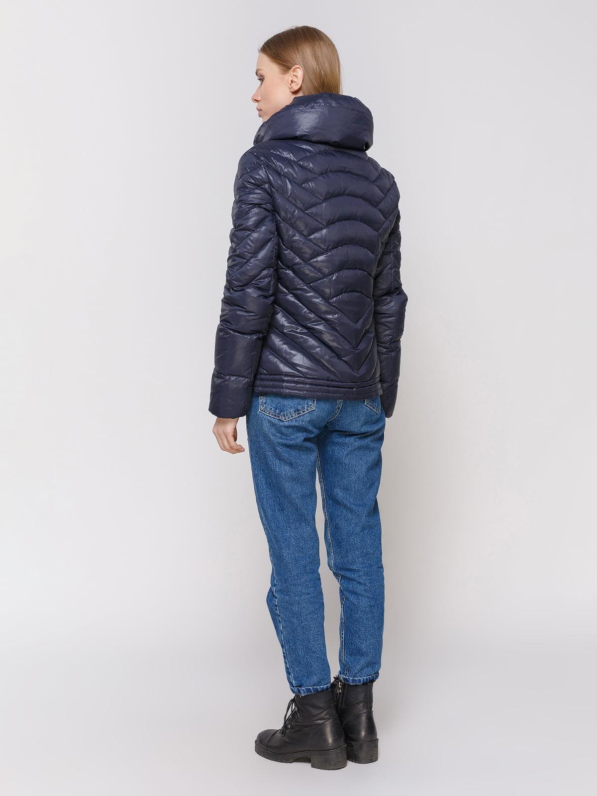 Куртка темно-синяя | 4652910 | фото 3
