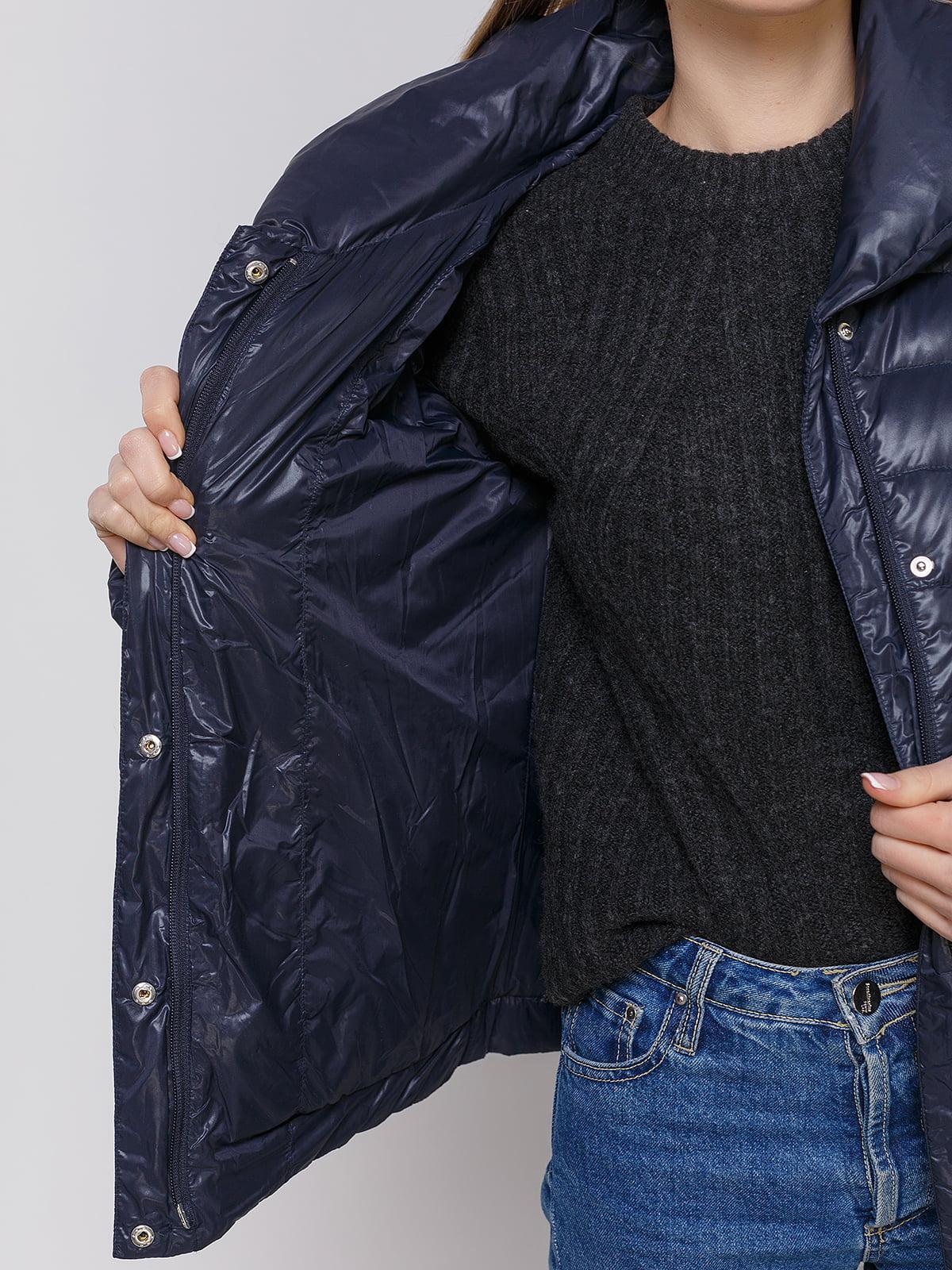 Куртка темно-синяя | 4652910 | фото 4