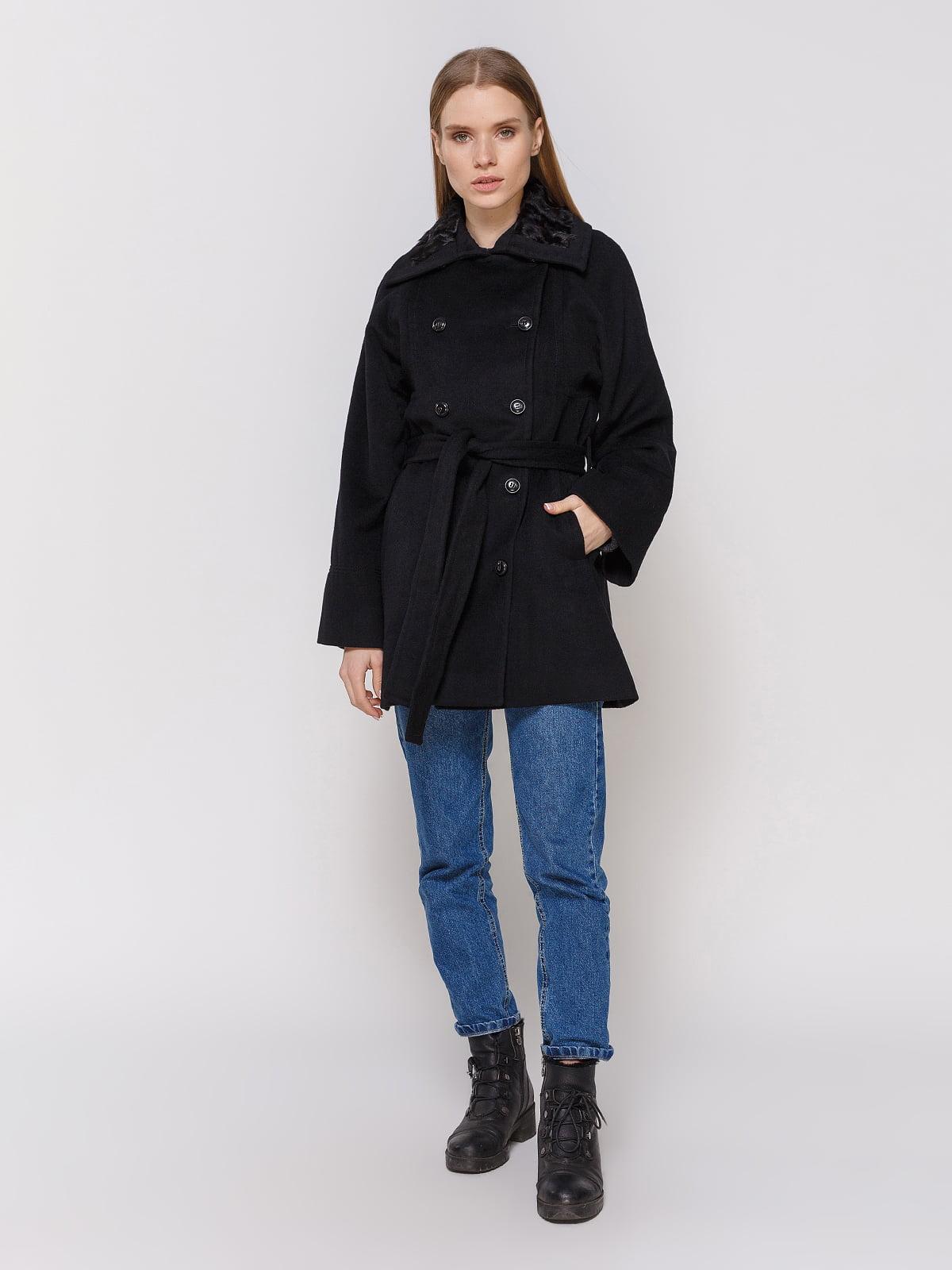 Пальто черное | 4653148 | фото 2