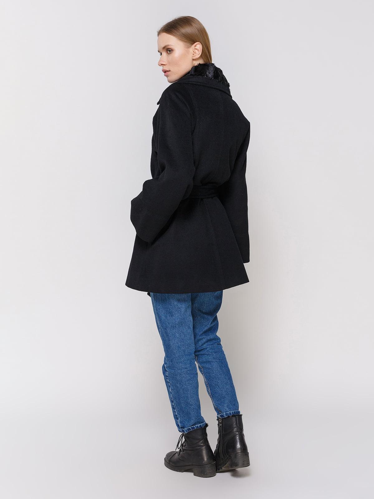 Пальто черное | 4653148 | фото 3