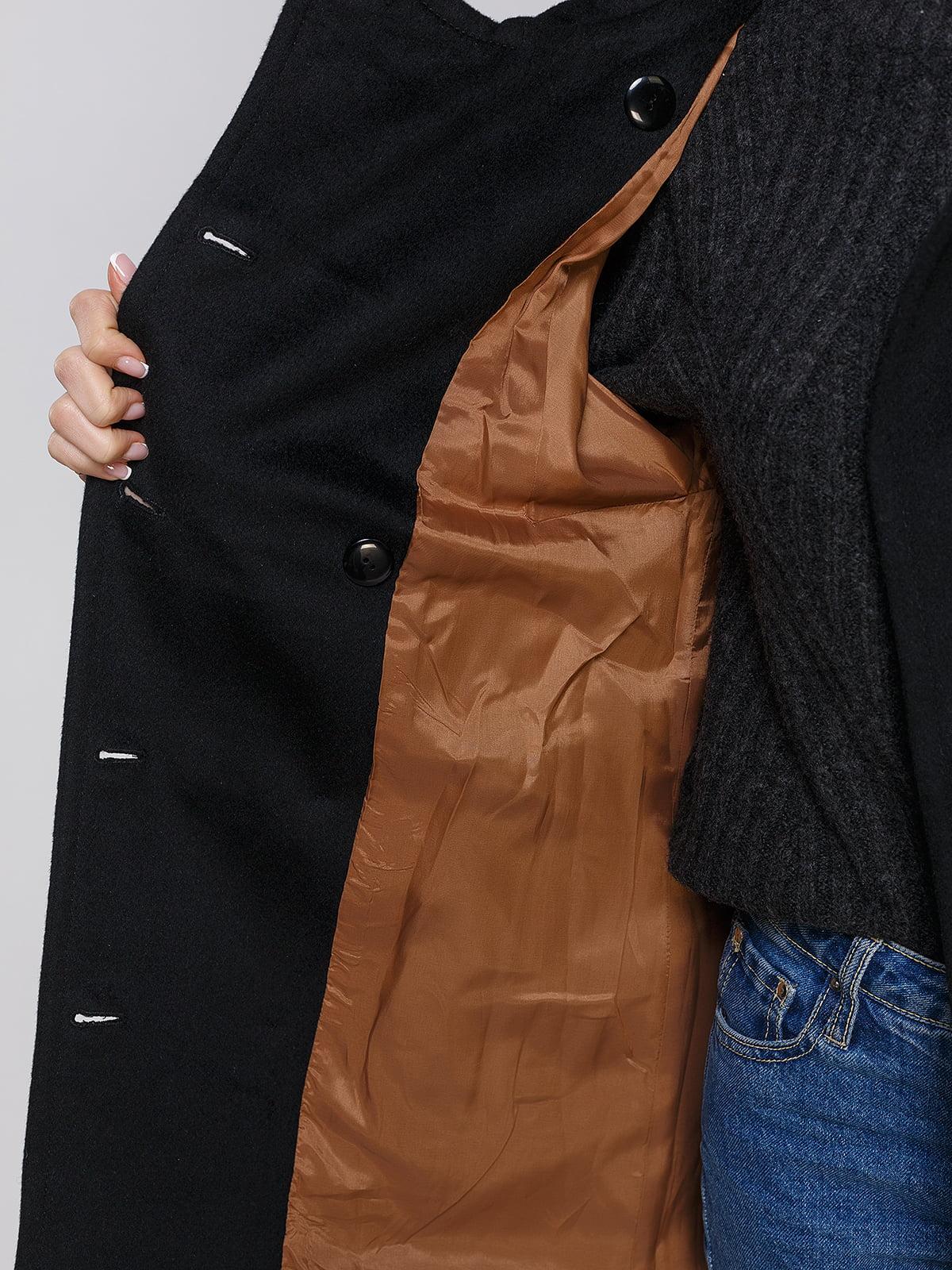 Пальто черное | 4653148 | фото 4