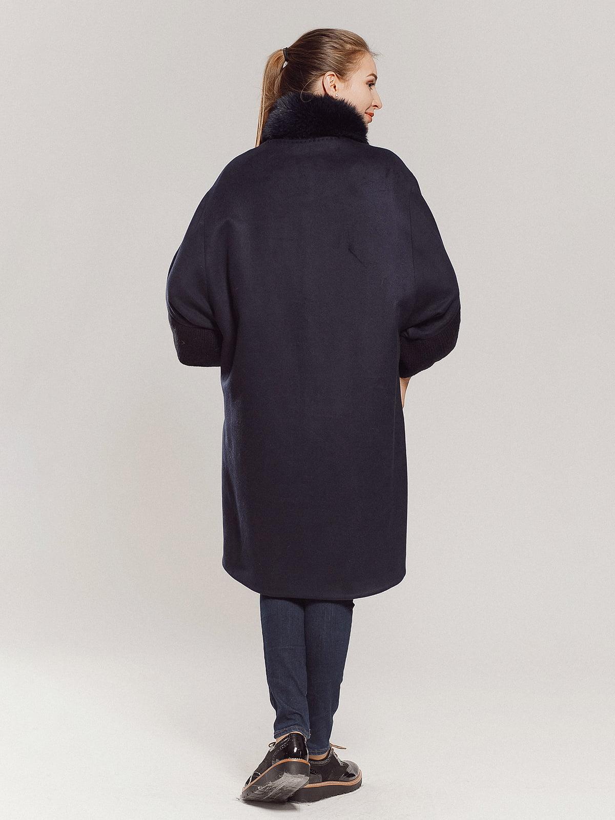 Пальто темно-синее | 4739300 | фото 13