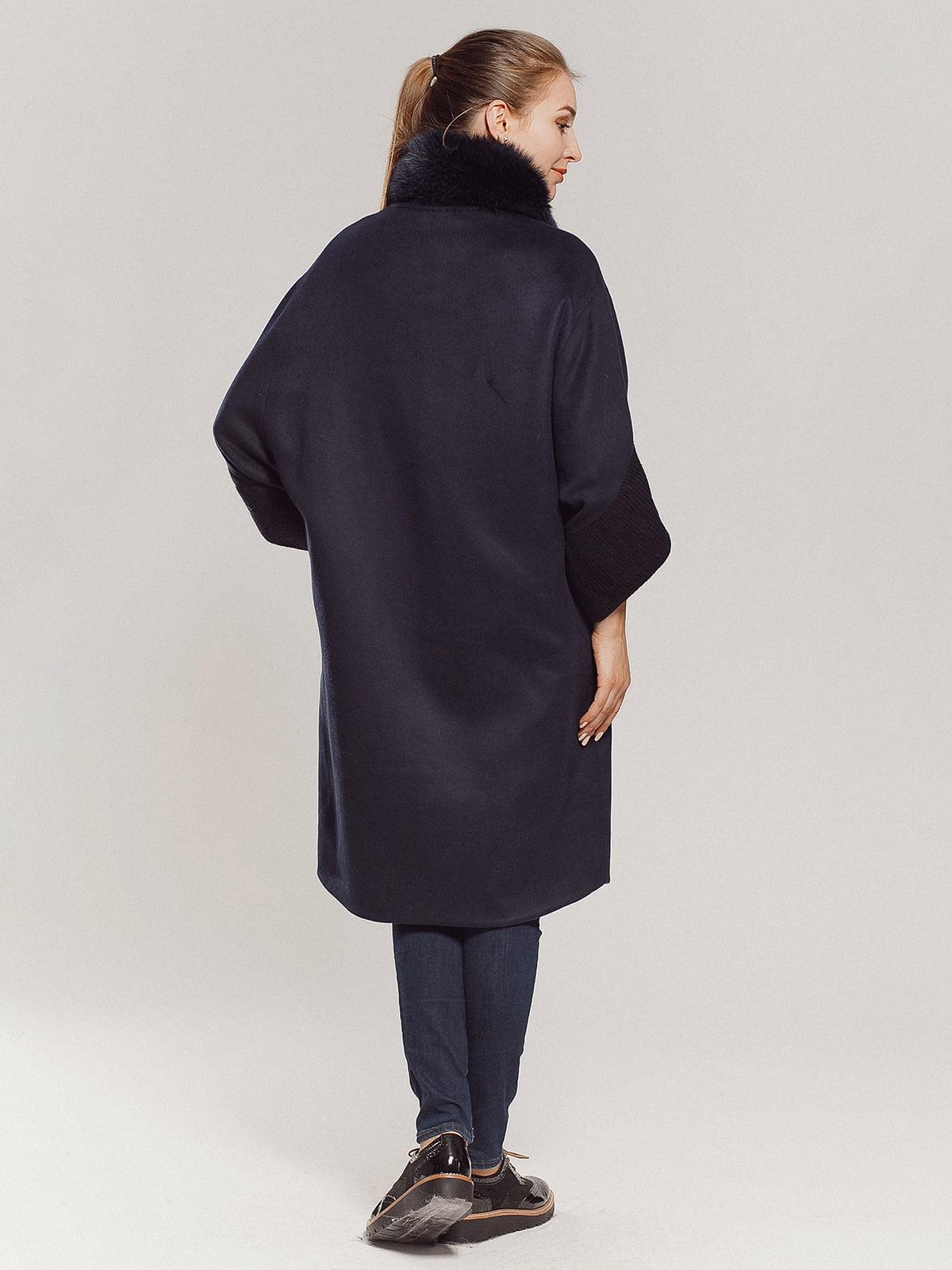 Пальто темно-синее | 4739300 | фото 14