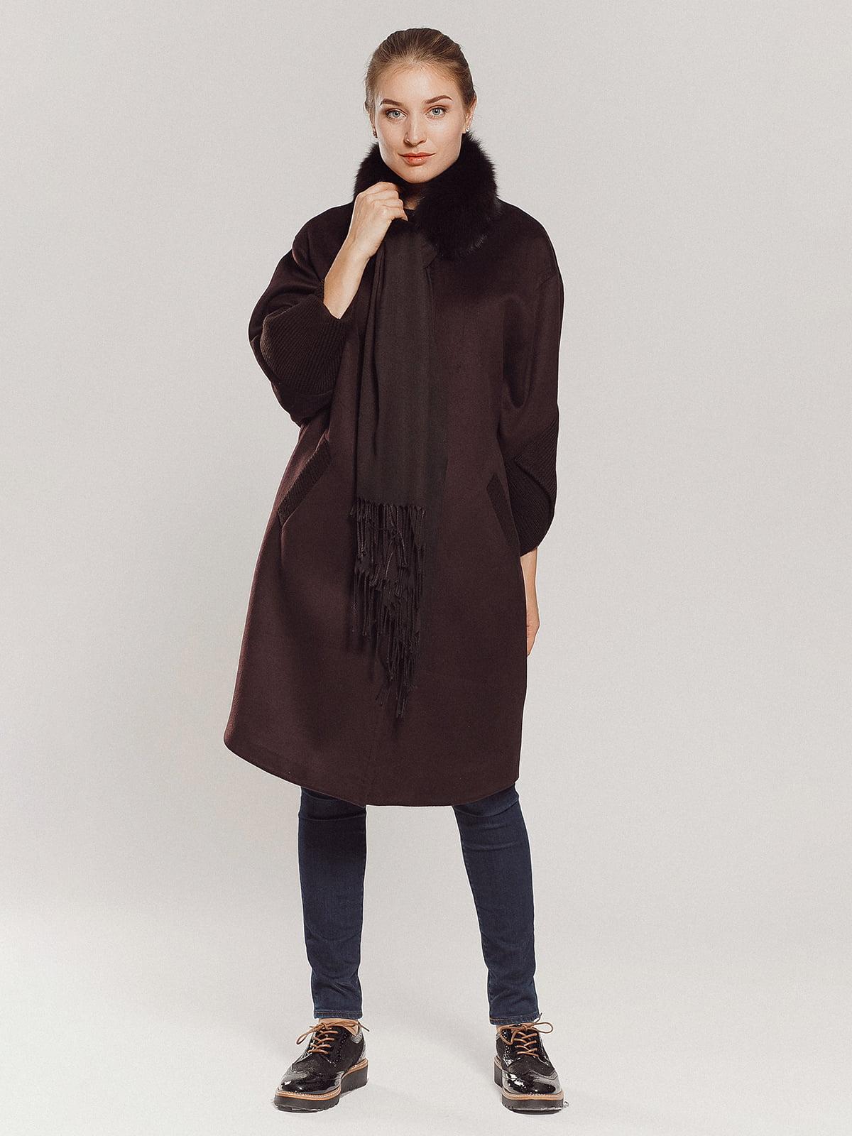 Пальто коричневое | 4739303 | фото 13