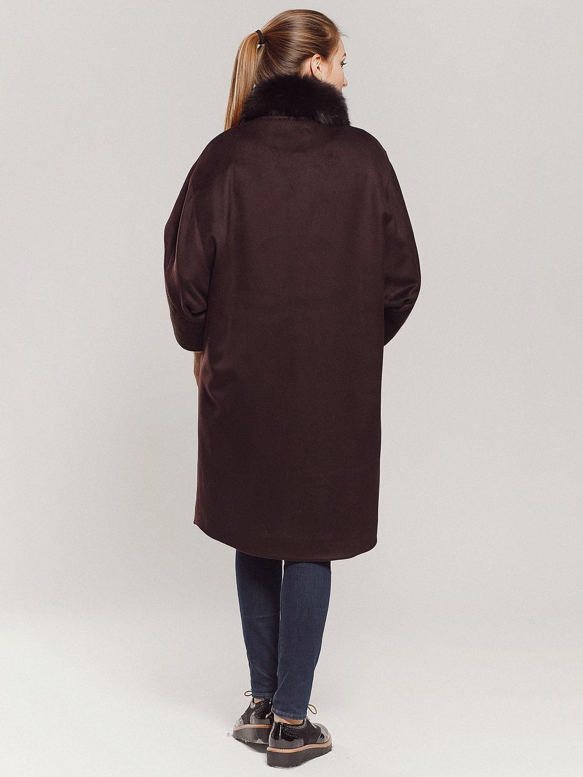 Пальто коричневое | 4739303 | фото 14