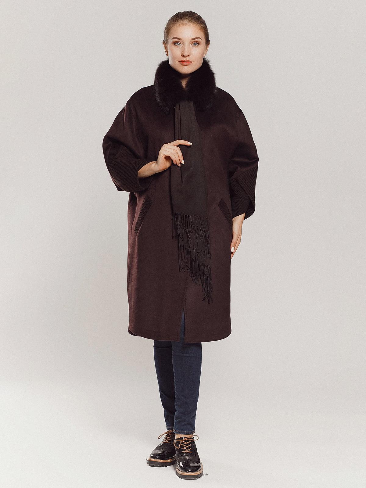 Пальто коричневое | 4739303 | фото 15