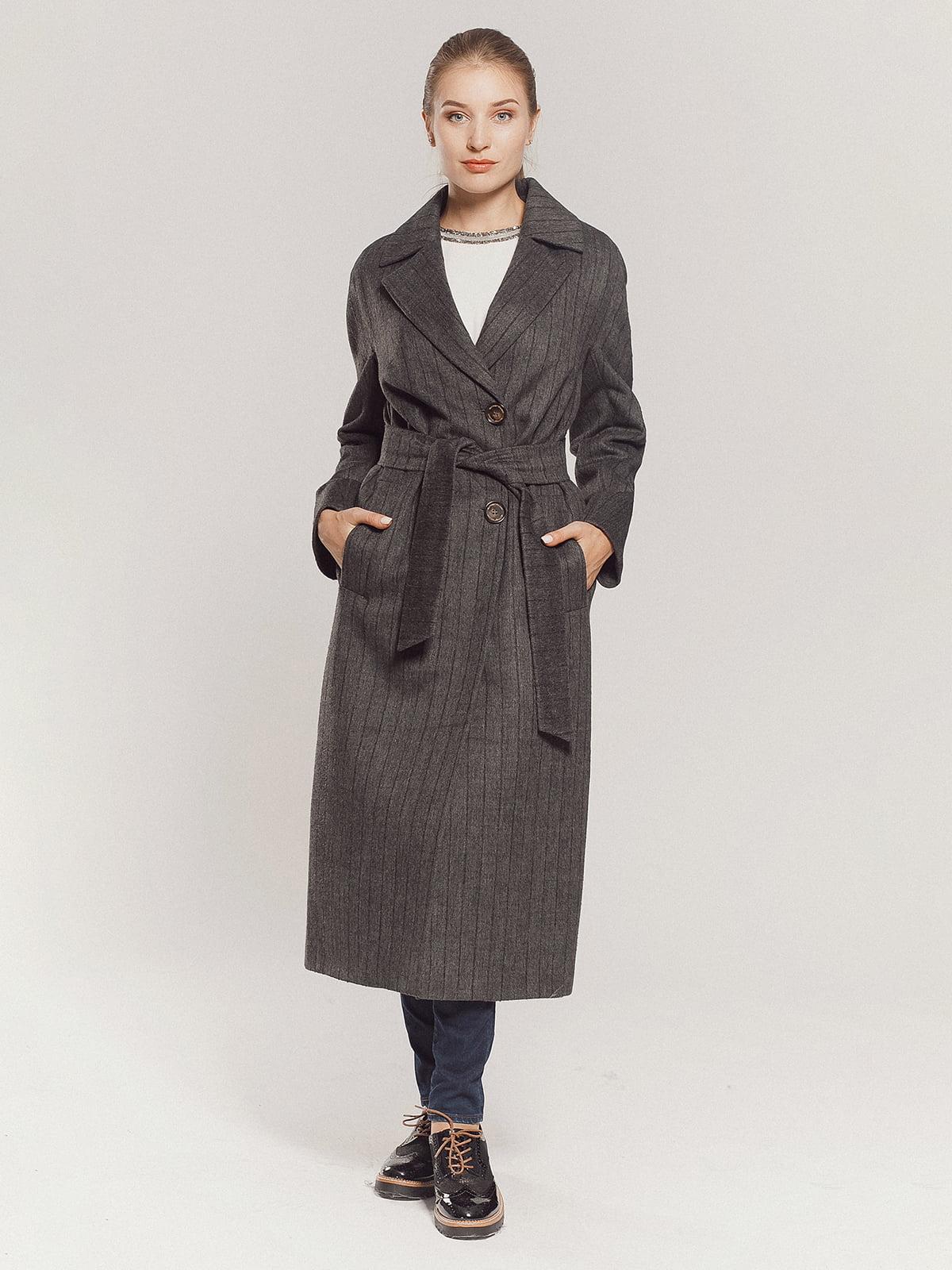 Пальто серое | 4739331 | фото 11