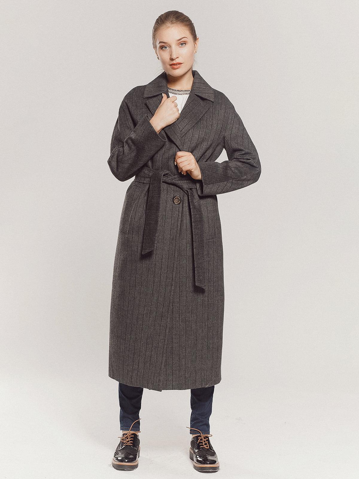 Пальто серое | 4739331 | фото 12