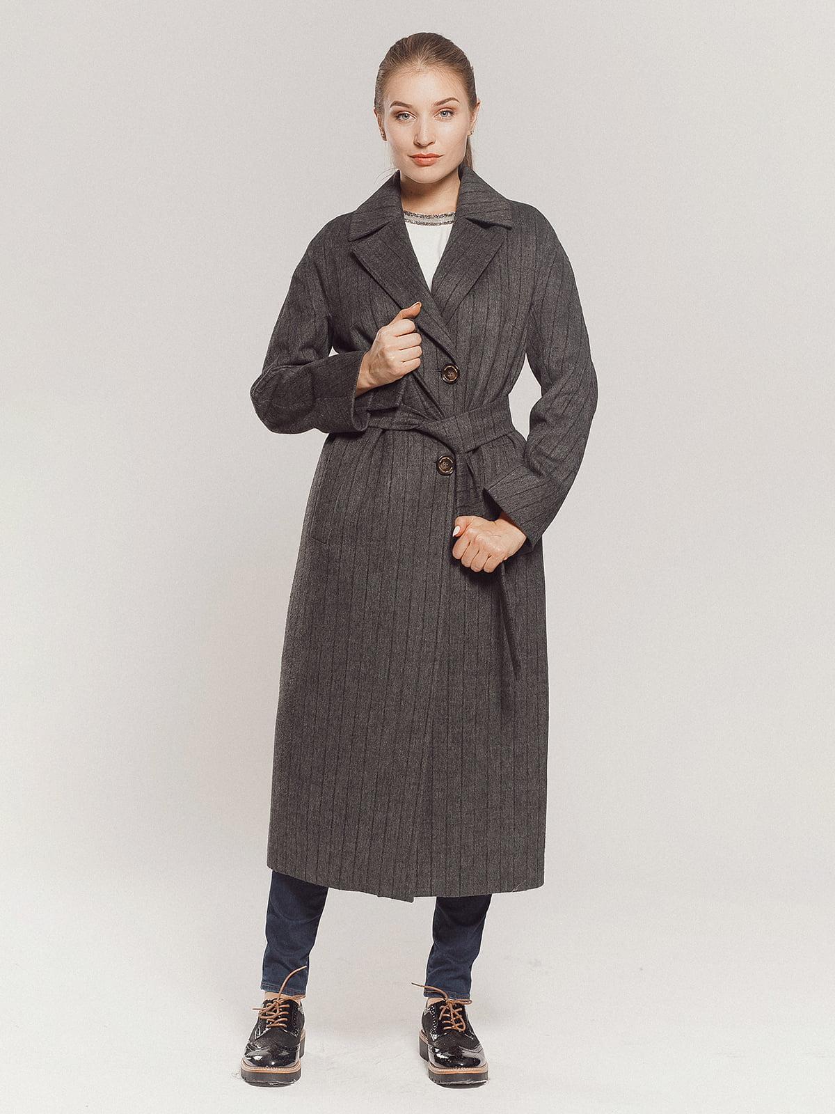 Пальто серое | 4739331 | фото 13
