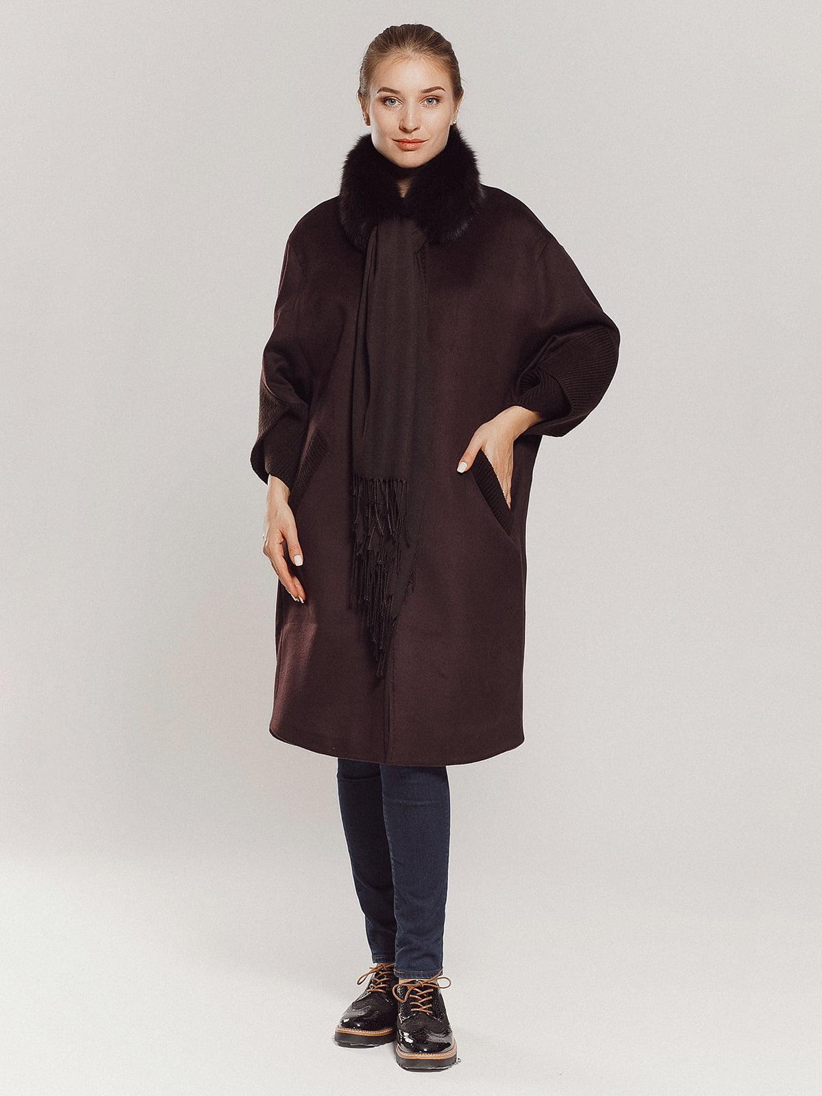 Пальто коричневое | 4739303 | фото 11
