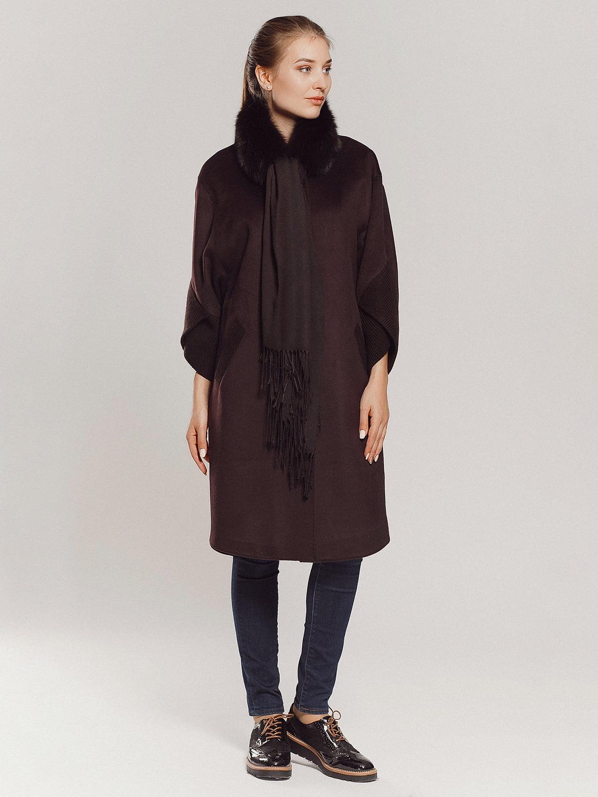 Пальто коричневое | 4739303 | фото 12