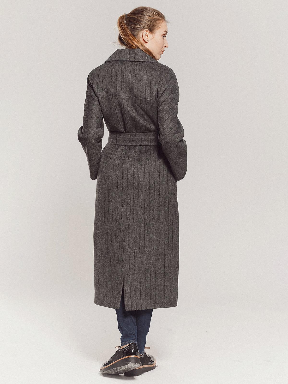 Пальто серое | 4739331 | фото 6
