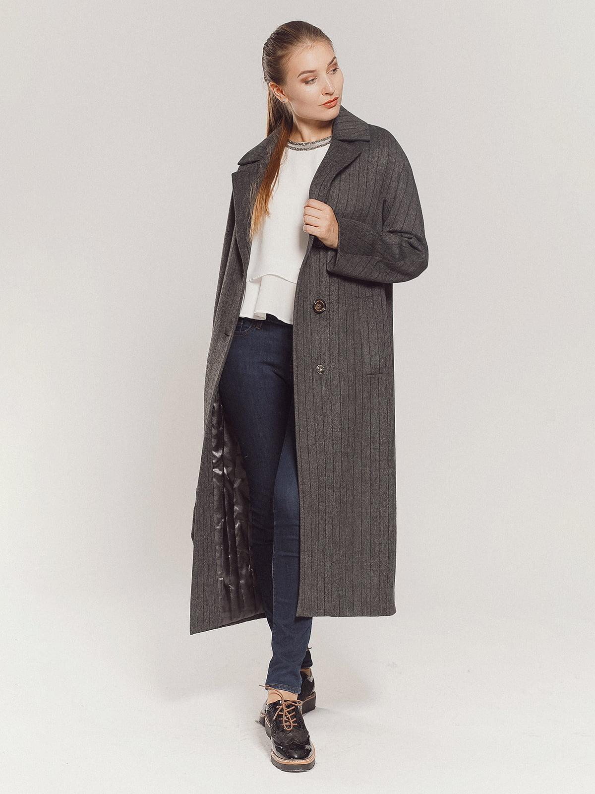 Пальто серое | 4739331 | фото 10