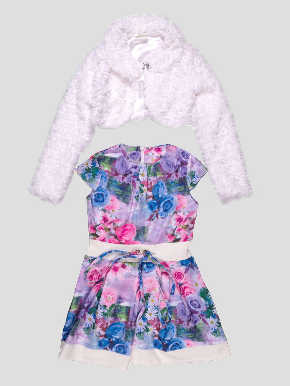Комплект: сукня і болеро | 4740884